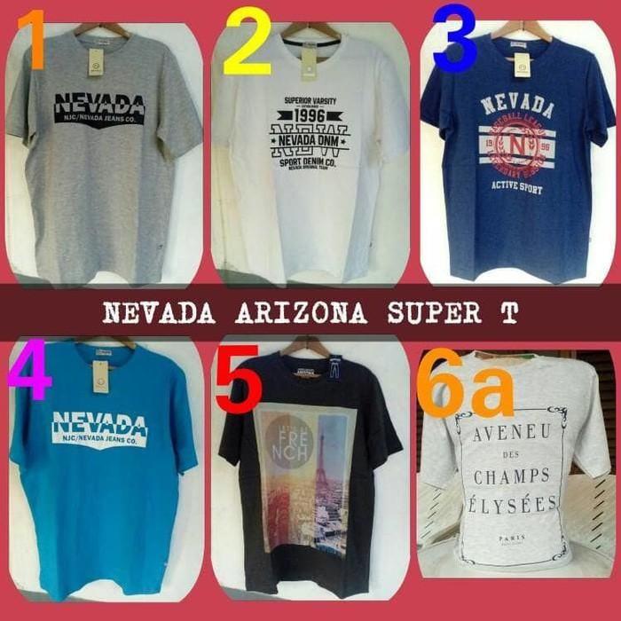 Nevada Jeans Co T Shirt Original Kaos Pria Dewasa - E7hxr0