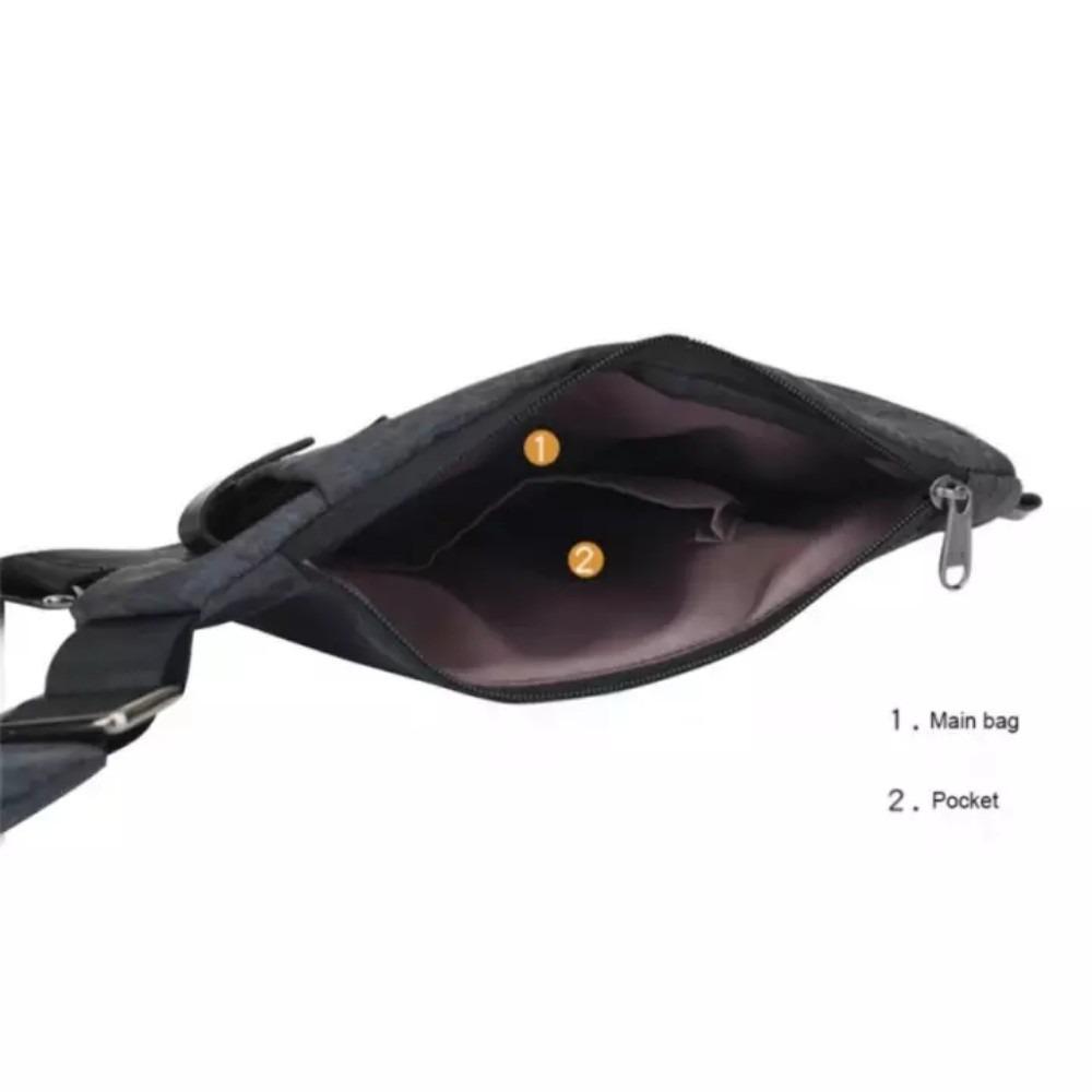 Cek Harga Baru Key Bag Tas Selempang Anti Maling Pria Slim Fit Thief Water Proof Smart Crossbody Air 0014 Grey 4