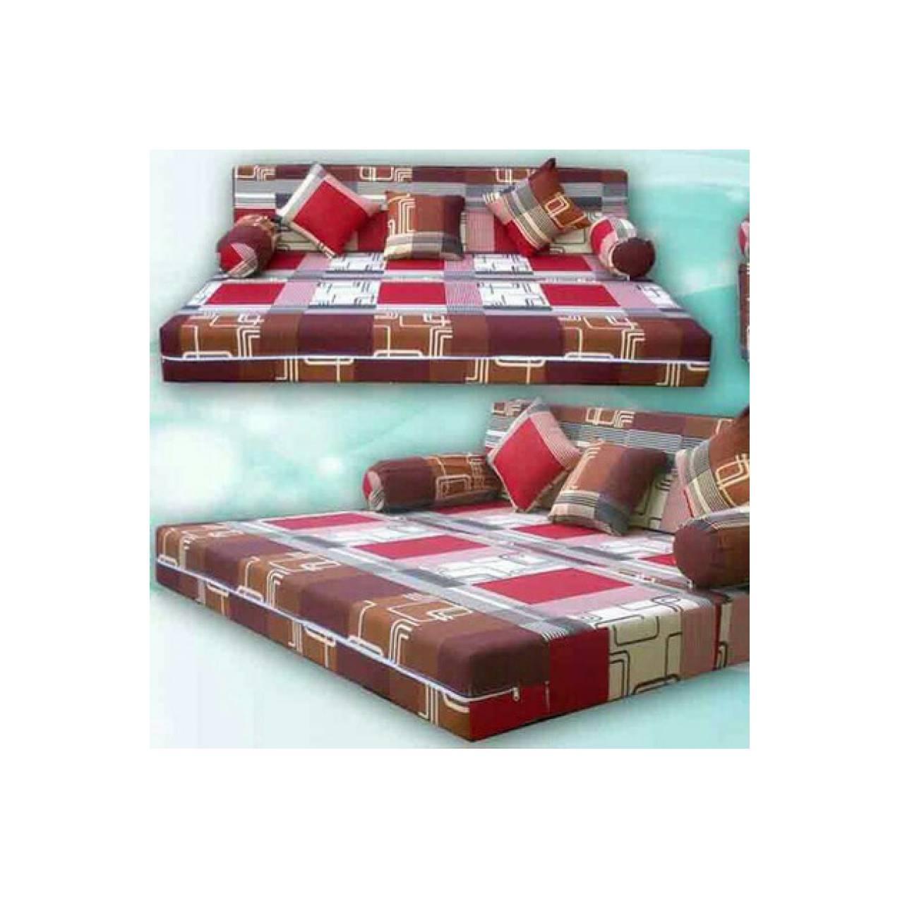 Sofa Bed Busa Inoac asli murah ukuran 200 x 180 x 20 No. 1