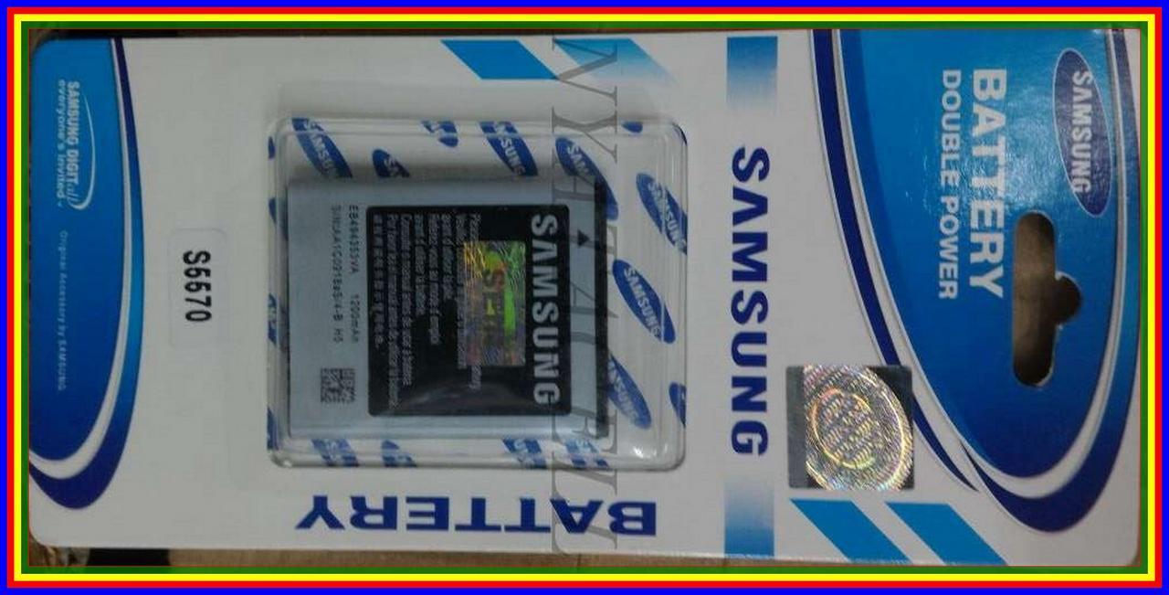 Galaxy Mini S5570 Batre Baterai Samsung Original 99% Ori Wave S5750