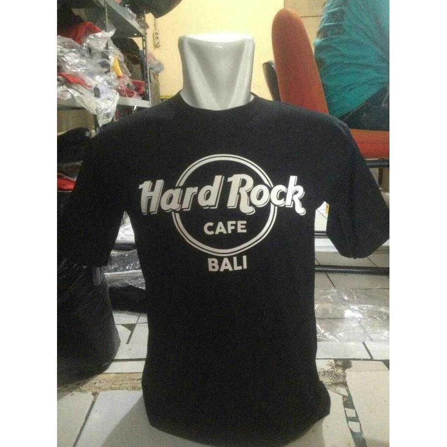 PROMO - KAOS/T SHIRT HARD ROCK BALI  TERBARU - DISTROGAUL