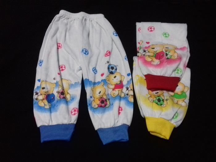 Promo Celana Panjang Bayi Bahan Katun Size L Usia 12-18 Bulan