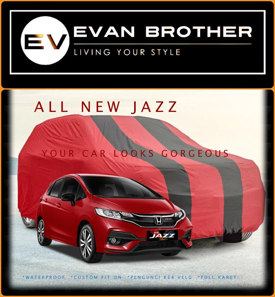 Kelebihan Cover Bember Belakang All New Honda Jazz Motif Mugen Power Mobil Penutup Sarung