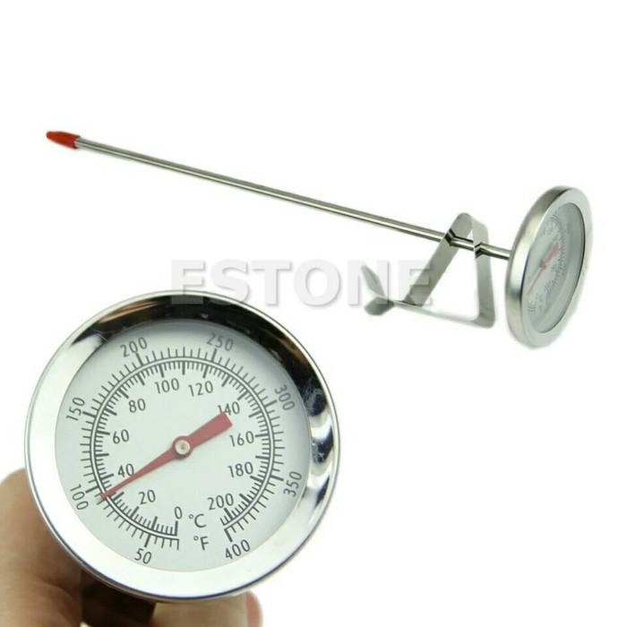 Termometer Minyak/Masak/Susu (Oil/Cooking/Milk Thermometer)21Cm - O2hwbi