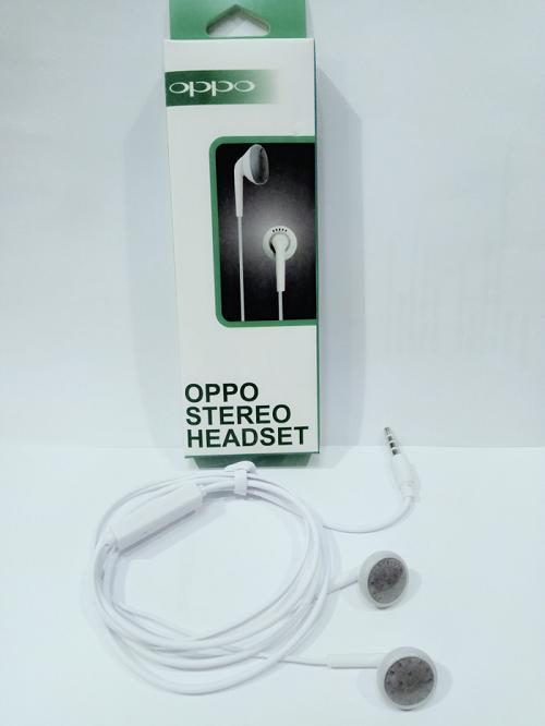 Oppo Handsfree Hf Headset Universal 3,5 mm for Oppo Iphone Samsung Vivo Xiomi Lenovo Asus Advan Eve