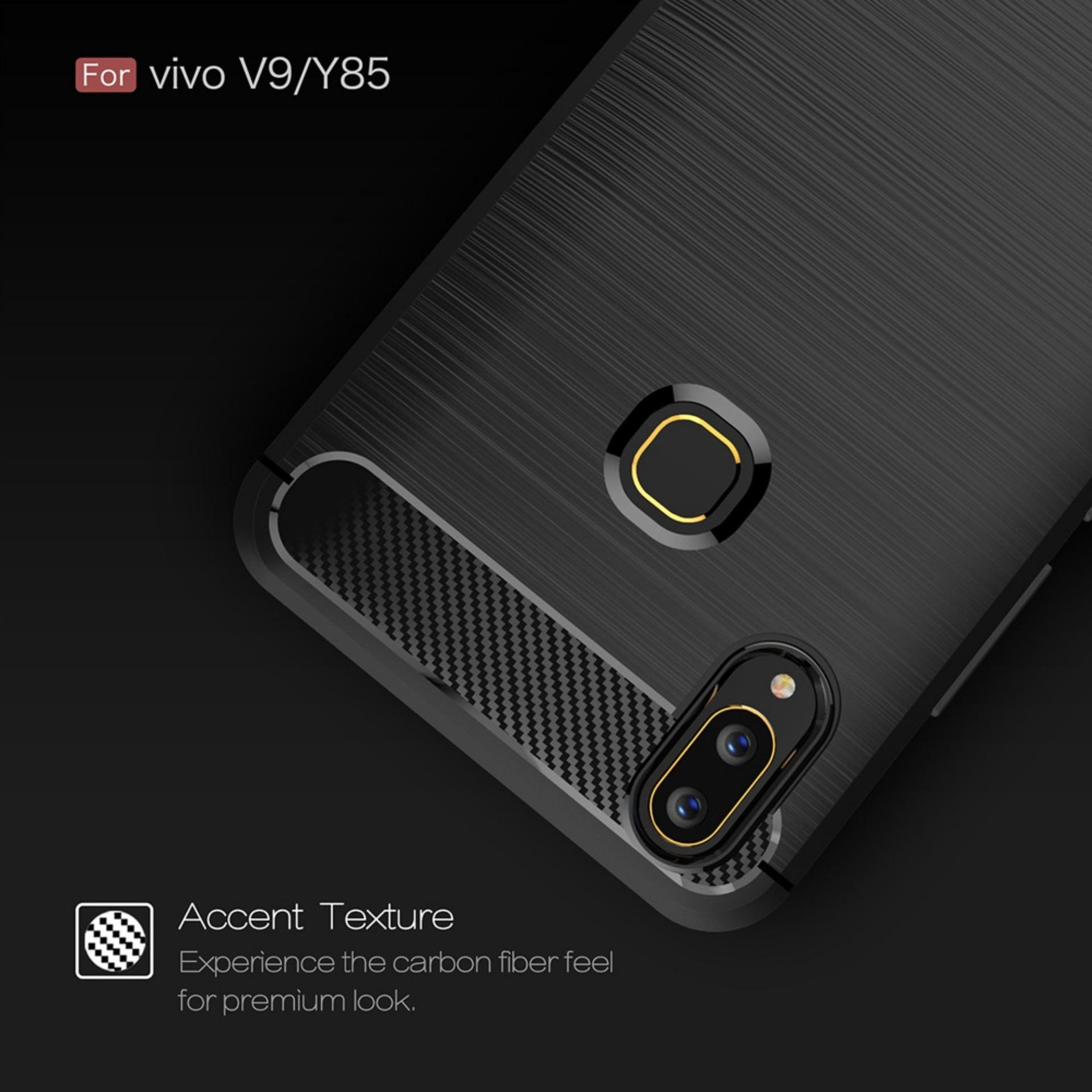 Kelebihan Caselova Premium Quality Carbon Shockproof Hybrid Case For Motorola Moto G5s Plus Tempered Glass Full Cover Black Dan Gold Vivo V9 Gratis