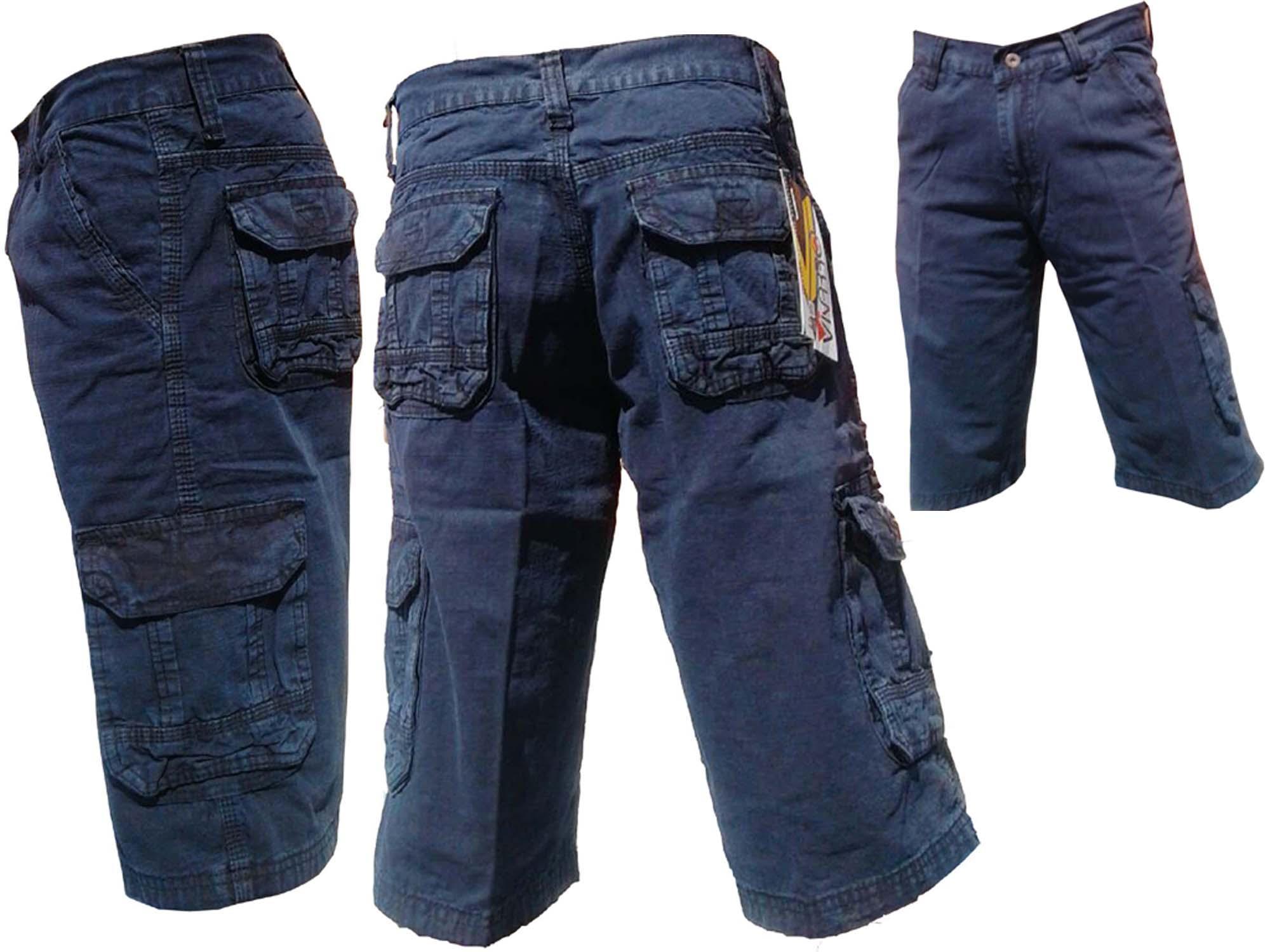 Fitur Diky Noval Celana Pendek Pria 3 4 Cargo Casual Fashion
