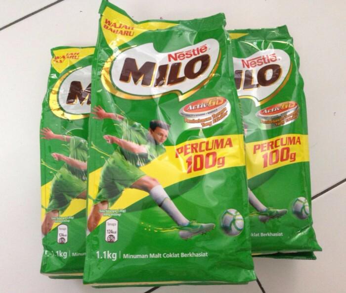 Nestle Milo 1,1kg Milo refill 1.1 kg 1.1kg Milo Malaysia Milo 1kg Milo 1.1kg