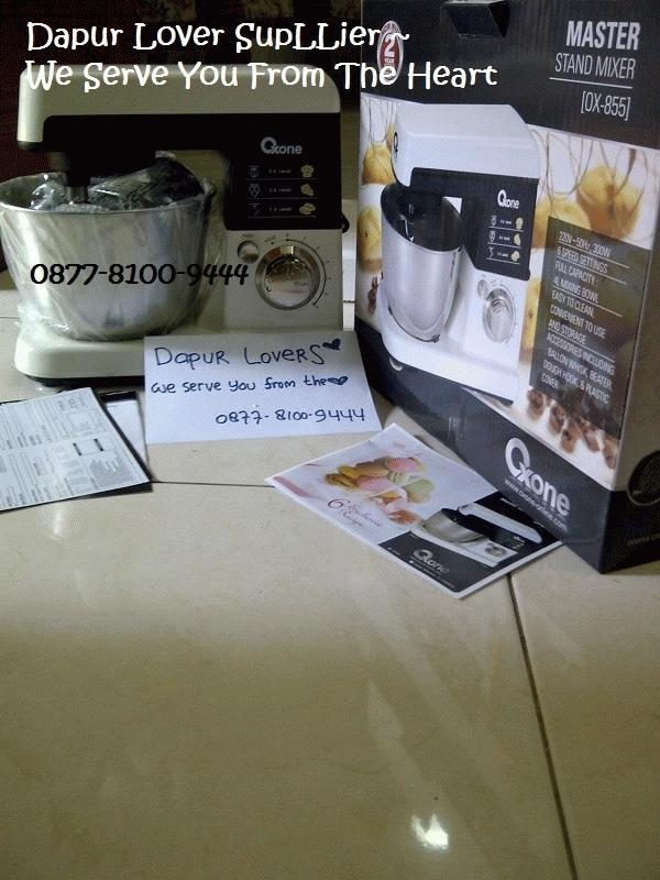 Oxone Master Stand mixer+bowl OX-855, Oxone Mixer Heavy Duty Murah, Mikser Heavy Duty utk adonan donat, roti, cake, kue, dll