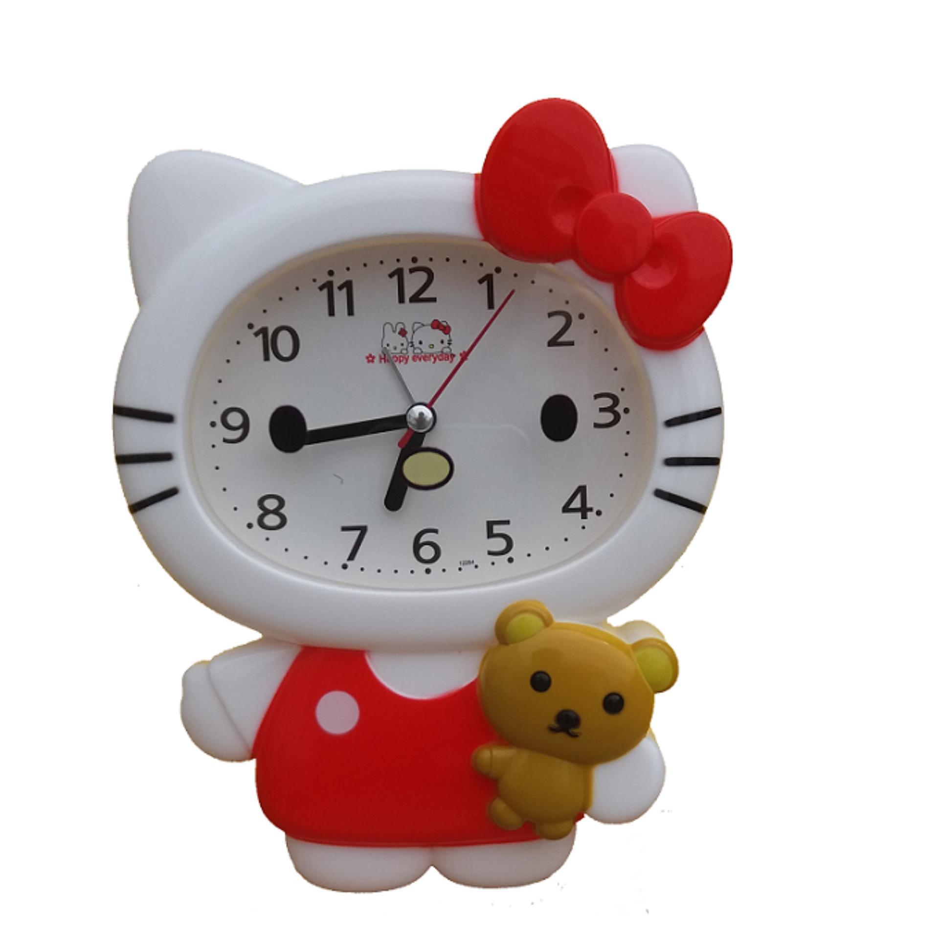 Hello Kitty Karakter Jam Meja Full Body SS-12264