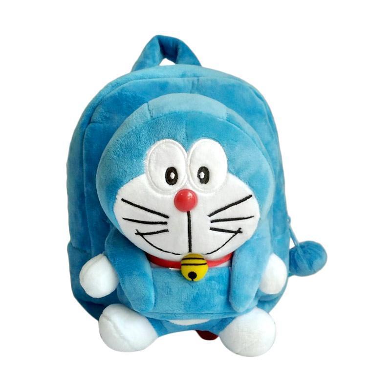 [0930010595] Doraemon Bludru Timbul Tas Sekolah Anak