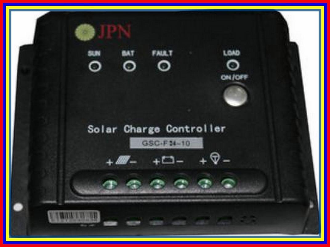 Controller Panel Solar Cell 24 Volt 10 Ampere