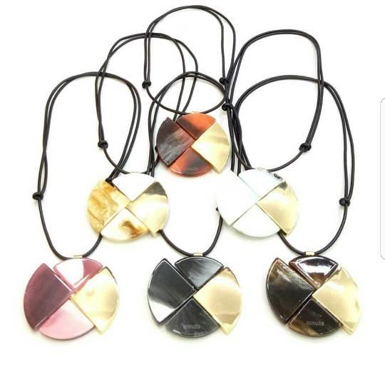 Kalung - Hermes Abstract Circle Necklace