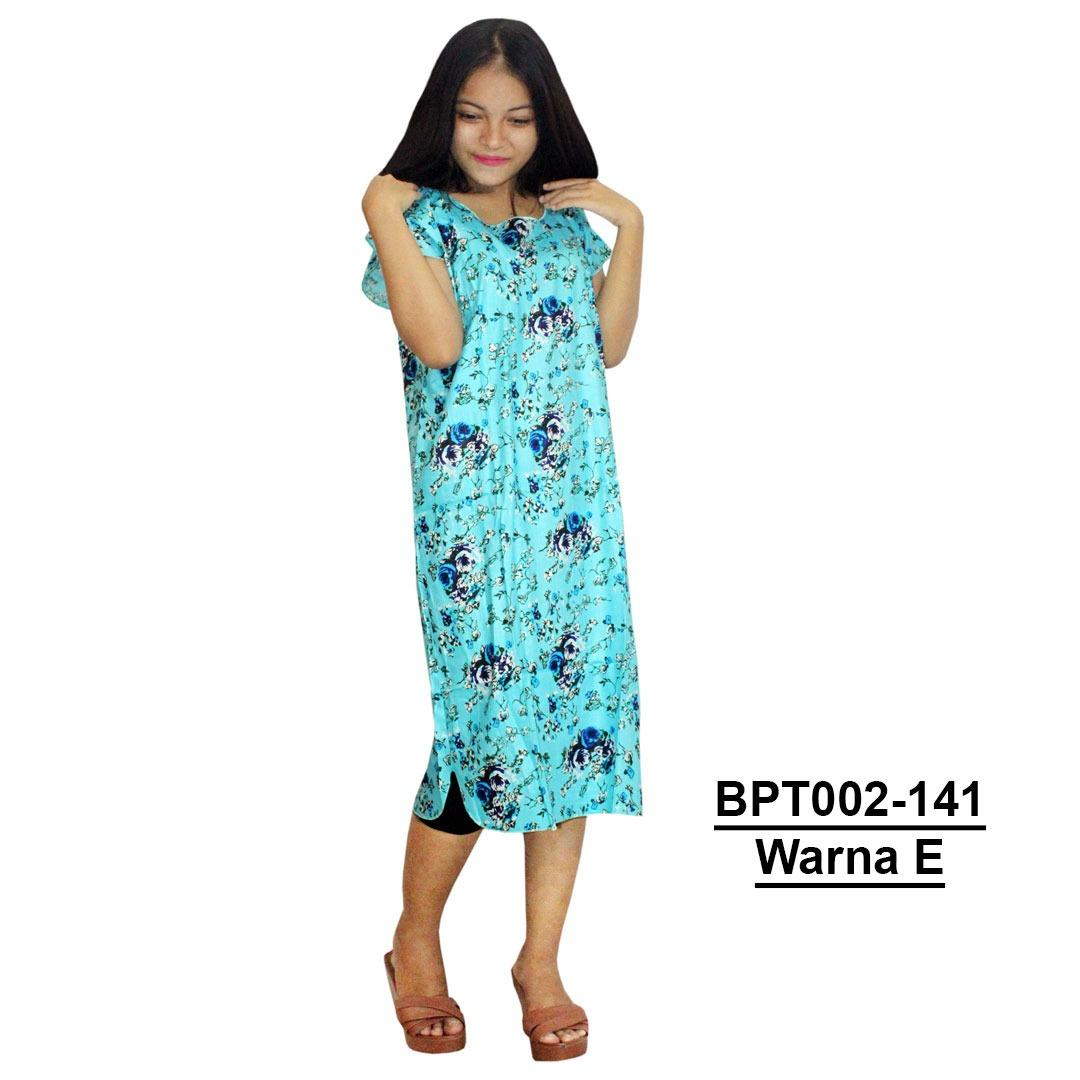 Midi, Daster Midi, Dress Santai, Baju Tidur, Piyama, Atasan Batik (BPT002-141) Batik Alhadi