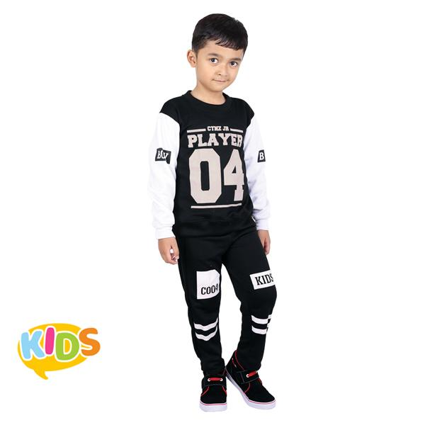 Promo Baju Training Olahraga Anak Catenzo Jr. 246.CMN 008 Fashion