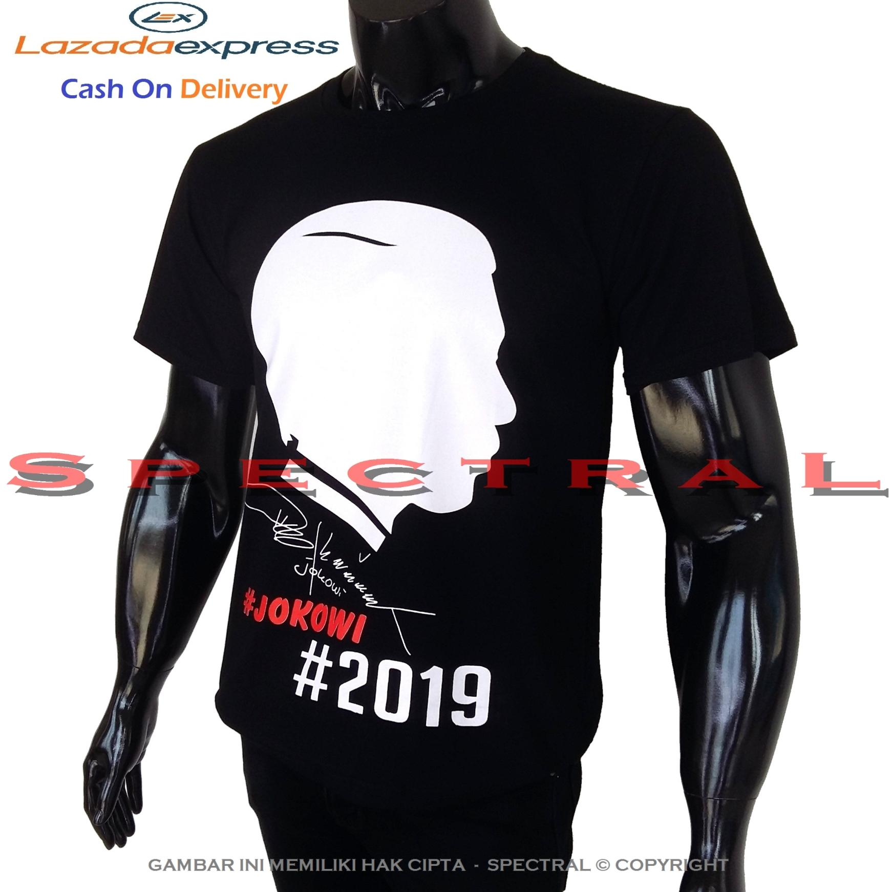 Spectral – #2019 Jokowi 100% Cotton Combed Salam 2 Periode GANTI PRESIDEN Kaos Distro Fashion T-Shirt Baju Pakaian #ganti Pria Wanita Cewe Cowo Lengan Murah Keren #gantipresiden2019 #gantipresiden Tulisan Kata-Kata kata Gantipresiden Indonesia Tagar 2019