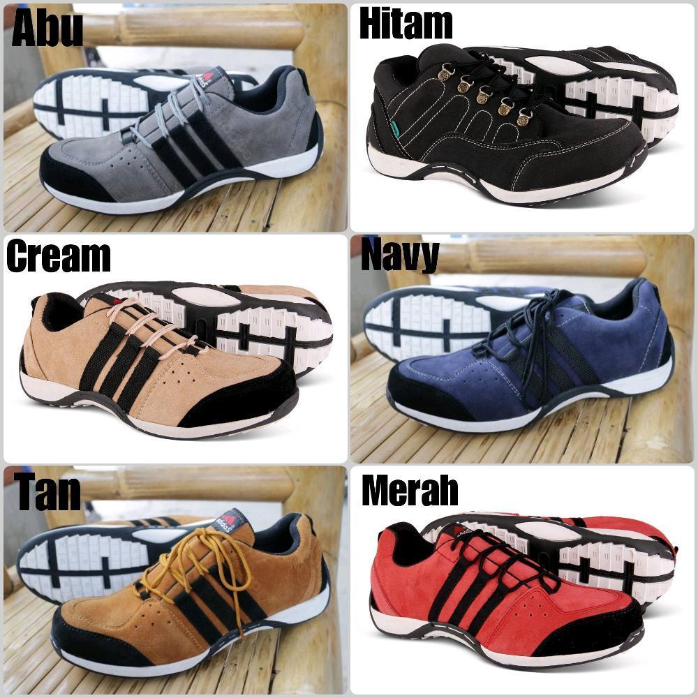 Promo Bonus kaos kaki Sepatu pria adidas Felix safety shoes low boots ujung besi bagus termurah Fashion