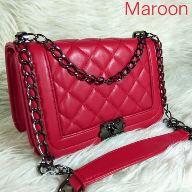 Boy II Mini Tas Murah Wanita Selempang Import Korea Modern  Fashion Tas Batam Wanita Hand Bag 014