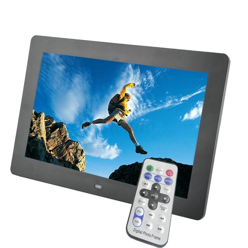 10.1 inch LED Backlight HD 1024 x 600 Digital Photo Frame Electronic Album MP3 MP4 Function