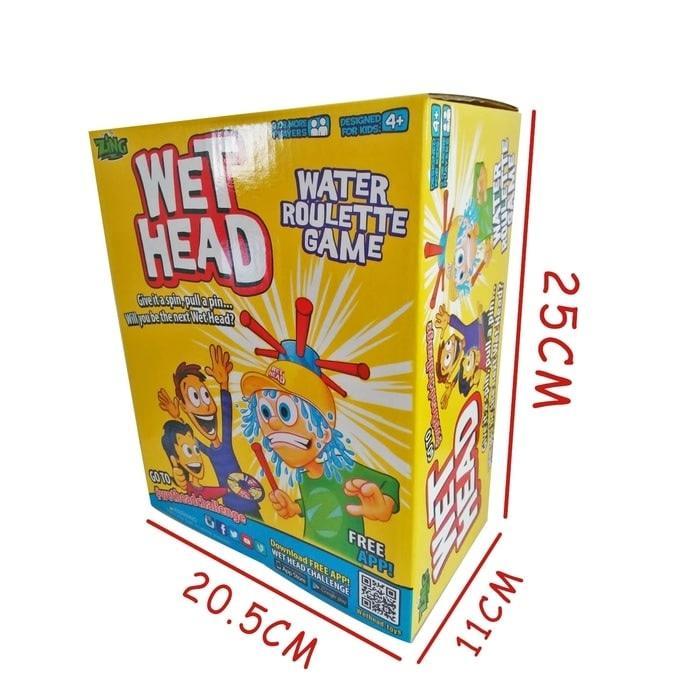 New Arrival Mainan Anak Wet Head Game Running Man Games Wet Hat Game Helmet Water