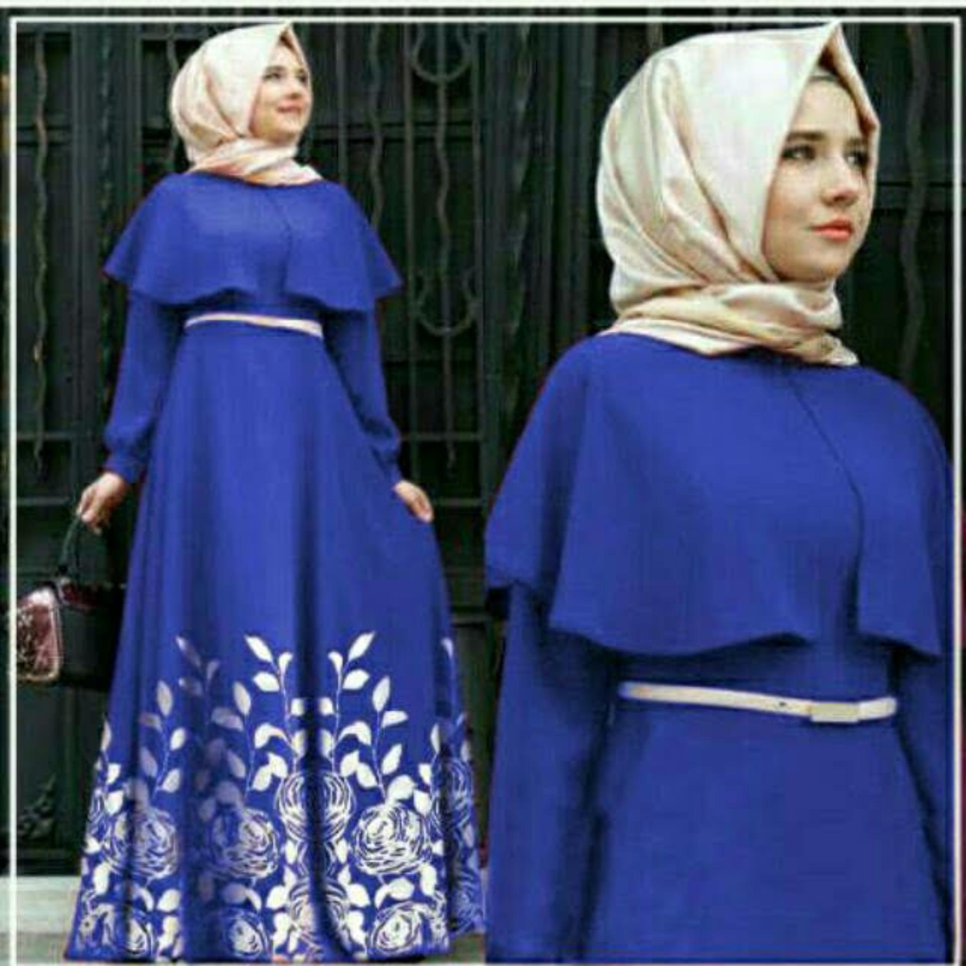 TOTO - Baju SETELAN atasan dan bawahan / Setelan Blouse/ Kemeja wanita / Long Dress Maxy / Long Dress Wanita / Gaun Panjang/Gaun Wanita / Tunik Wanita / Dress Muslim / Atasan Muslim / Gamis ; Murah; Motif dan Warna Real Photo #Ukuran M, L dan XL