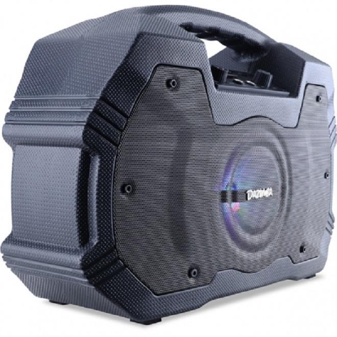 ... Speaker Portable Dazumba Dw 196 Superr Bass Bluetooth Karaoke + Free Microphon - 4