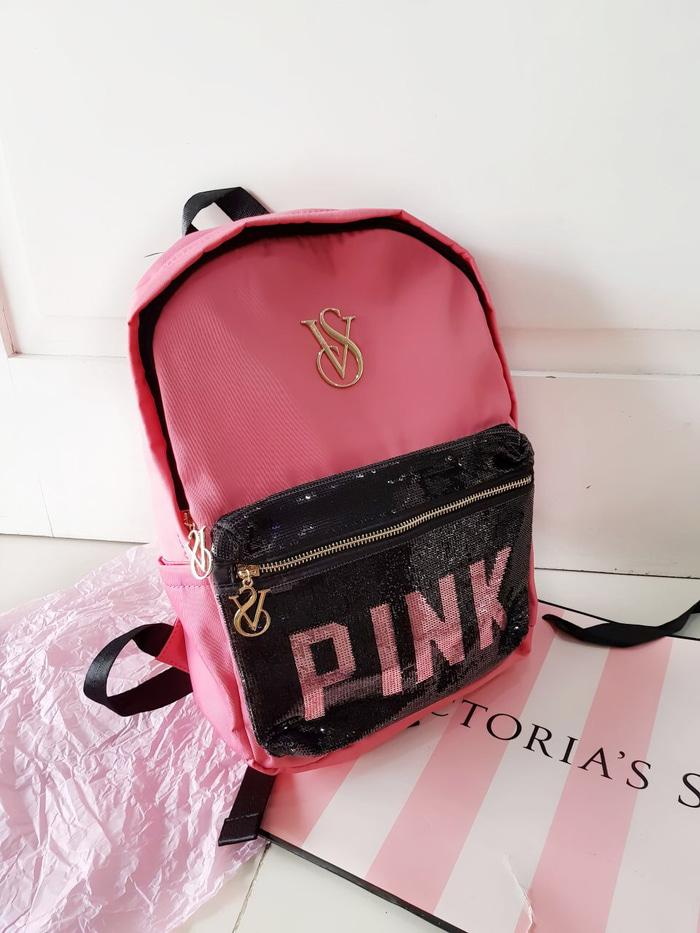 TAS RANSEL VICTORIA SECRET PAYET ORIGINAL  - h8enbr