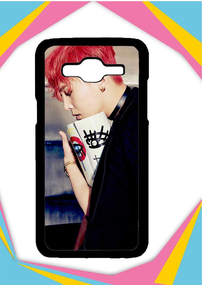 Casing Samsung Galaxy J7 2016 Custom Hardcase BIGBANG G-Dragon wallpapers G0449 Case Cover