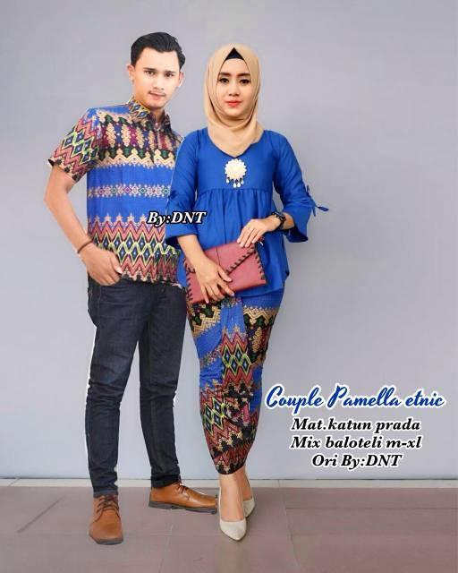 Baju Batik Couple / SARIMBIT BATIK MODERN / MURAH HARGA GROSIR