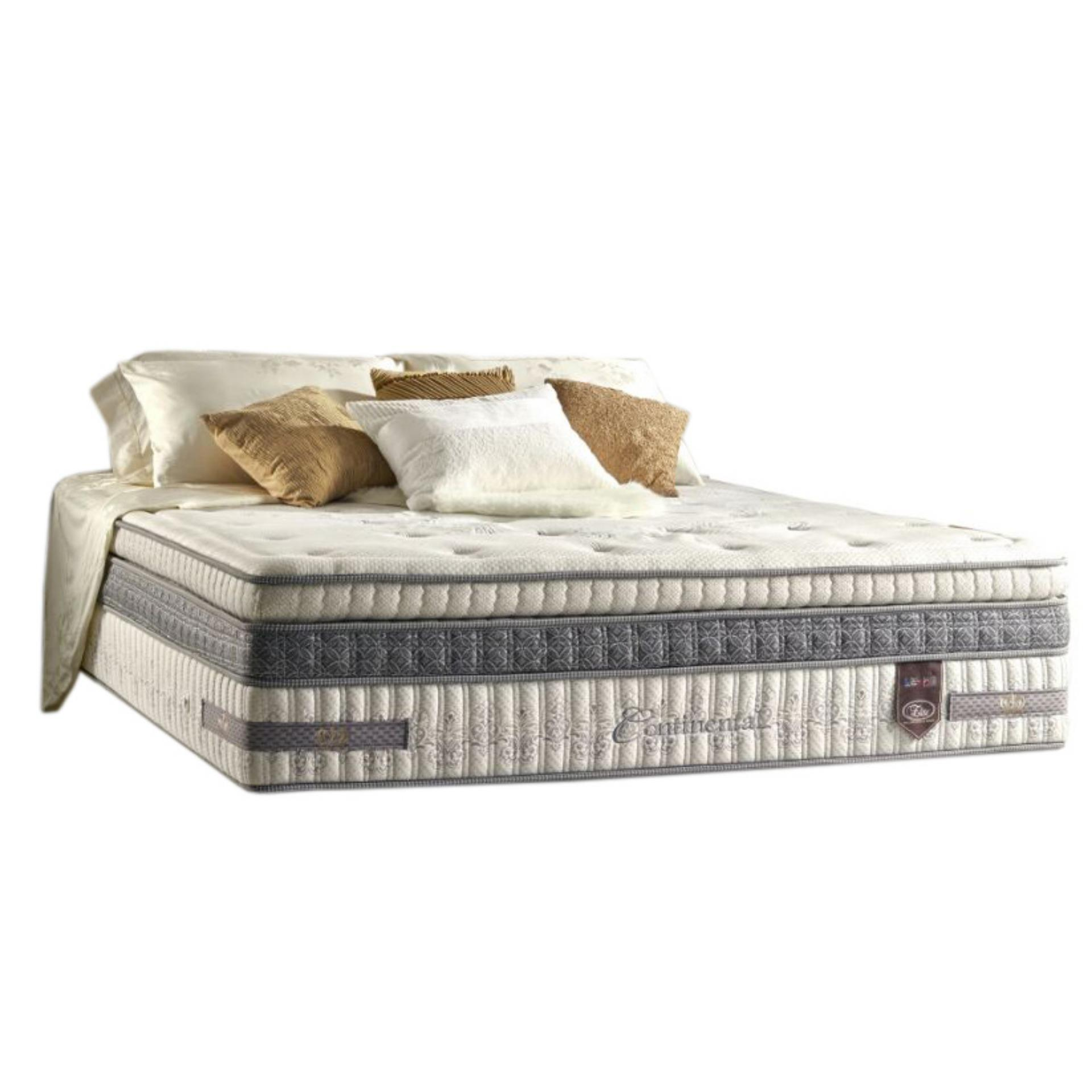 Elite Springbed Continental Luxurious Pocketed On Pocketed Size 180 x 200 - Mattress Only - Khusus Jabodetabek