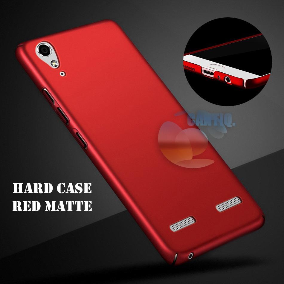 Case Lenovo A6000 Hard Slim Red Mate Anti Fingerprint Hybrid Case Baby Skin Lenovo K3 A6000 Baby Soft Lenovo A6000 Hardcase Lenovo A6010 Plastic Back Cover / Casing Lenovo A6000 / Case Lenovo A6000 - Red / Merah