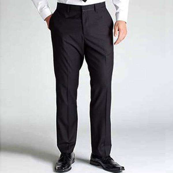 Viral Guido - PROMO Celana Panjang Pria Formal Kantor - Kerja- Standart / Reguler Fit - Bahan Twist / Teflon  - Hitam - Viral Pro