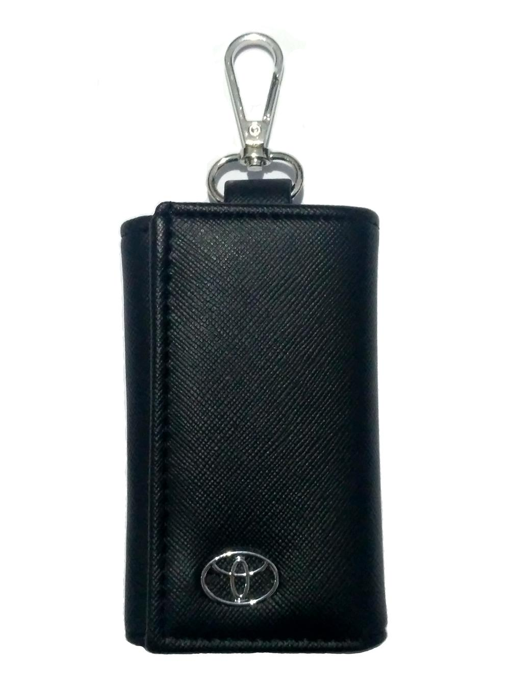 Dompet STNK - Gantungan Kunci Mobil TOYOTA Bahan Berkualitas - Hitam 1pc