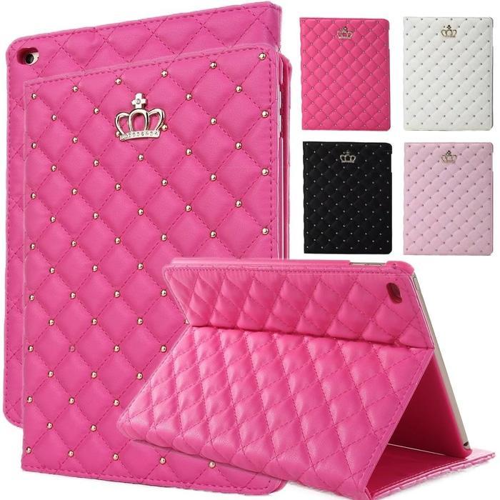 Premium Crowncase iPad air 2 iPad 6 Bookcover Premium leathercase