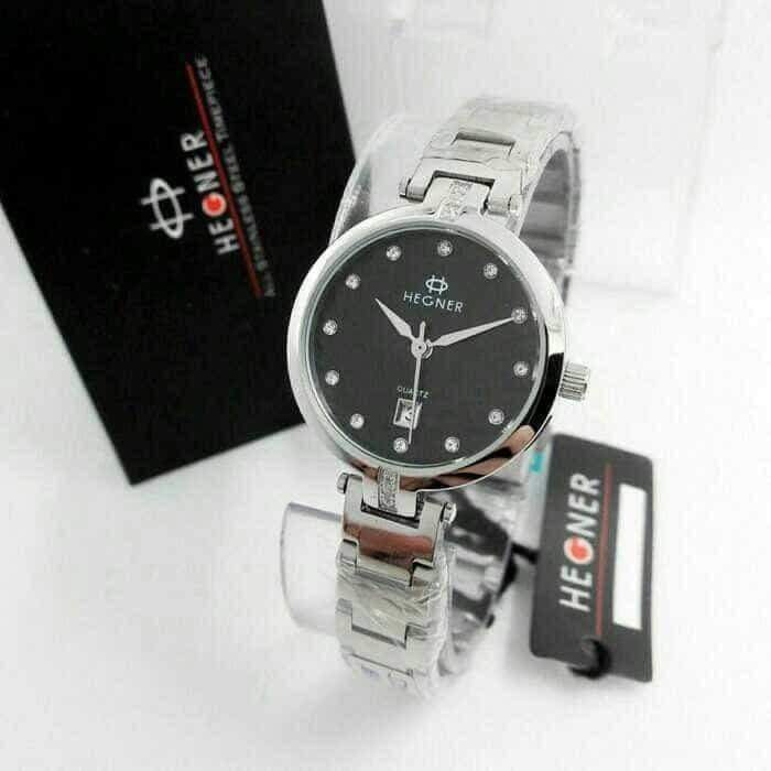Jam tangan pria/Jam tangan wanita/Jam tangan couple/Jam tangan pria anti air/Jam tangan casio/Jam tangan wanita anti air/Jam tangan pria casio Jam Tangan Wanita Hegner Original (Guess,GC,Bonia,Rolex,Aigner,Fossil)