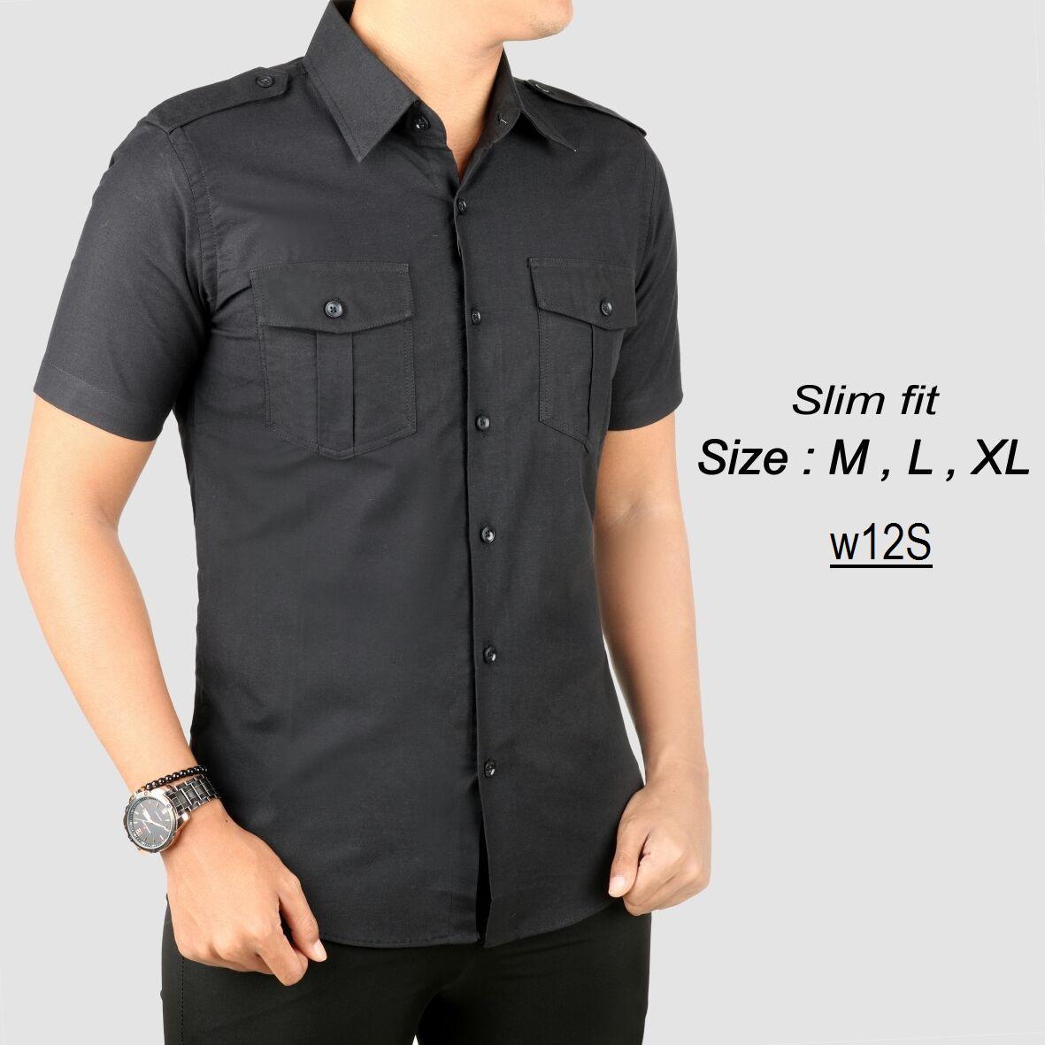 Kemeja Putih Jokowi Baju Kemeja Putih Pria Slim fit