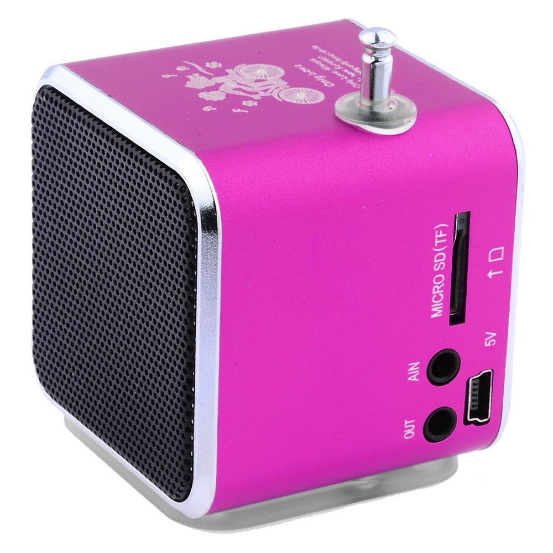 Fitur Speaker Bluetooth Aktif Jbl Portable Nakamichi My Mini Plus With Fm Radio Pink Komputer