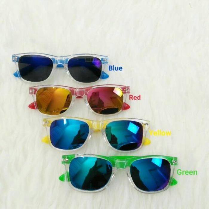 Kacamata Anak Vans Kids Junior Mirror Warna List Bening
