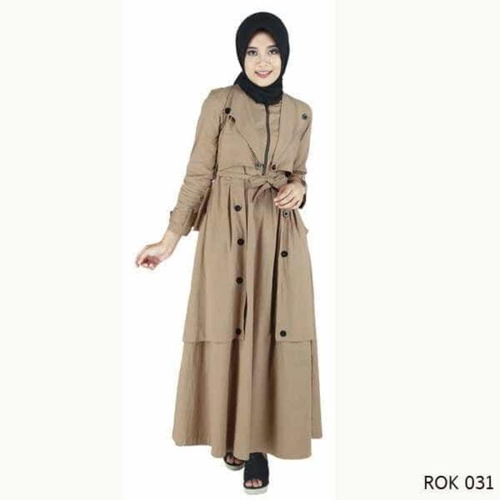 GAMIS/BAJU MUSLIM WANITA CLOTHING ORIGINAL RAINDOZ BANDUNG