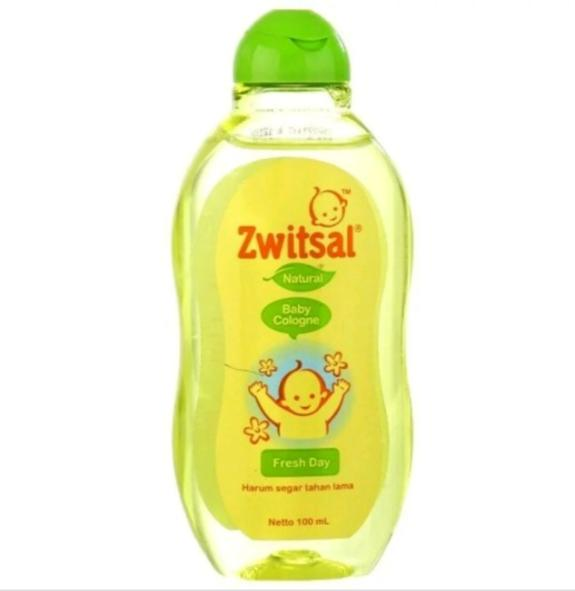 Zwitsal Baby Cologne Natural Fresh Day 100 Ml