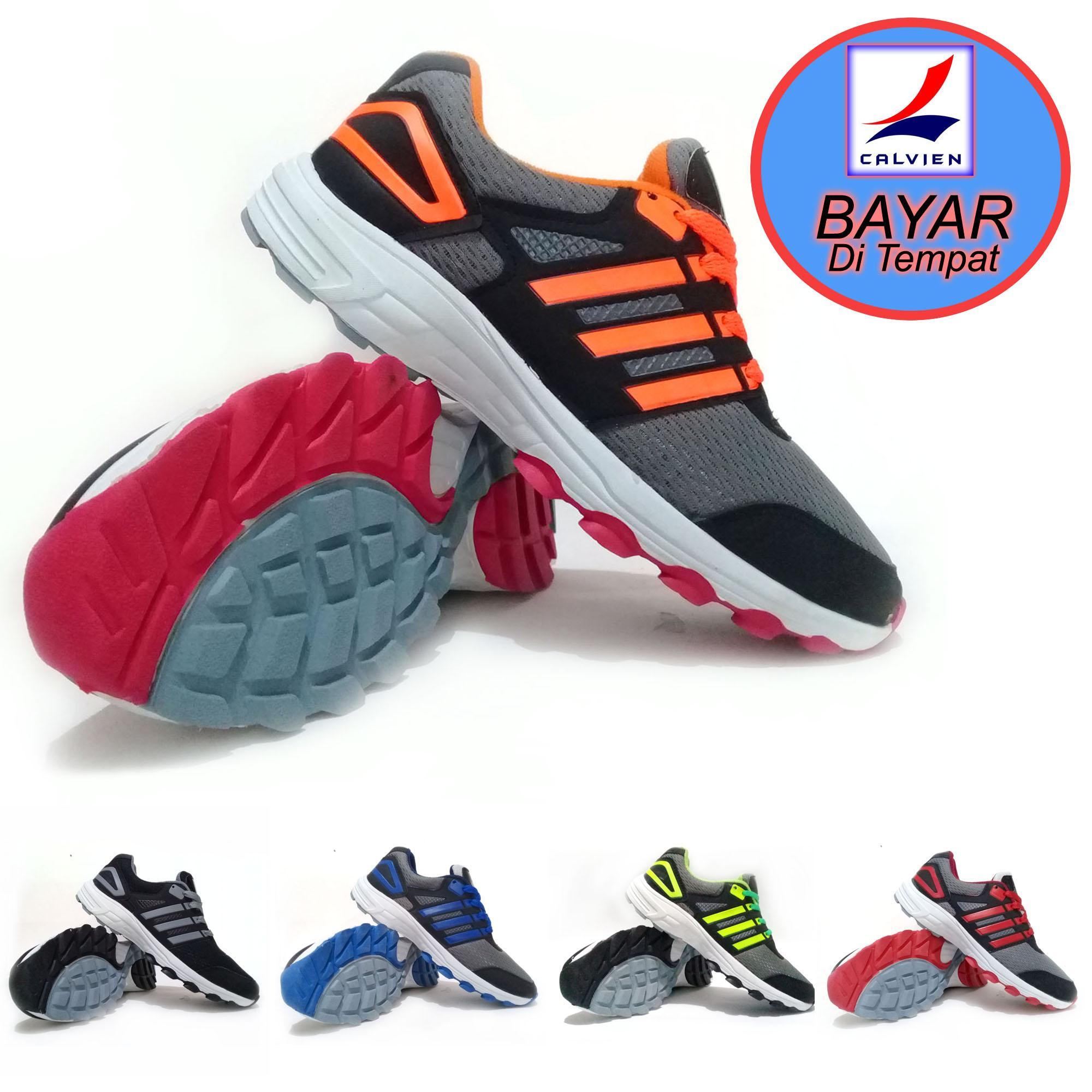 Calvien Sepatu Kets Sneakers dan Kasual pria/Sepatu Sneakers Pria/Sepatu Pria/Sepatu Sneakers Pria/Sepatu Murah/Sepatu Olah Raga Kode ADV