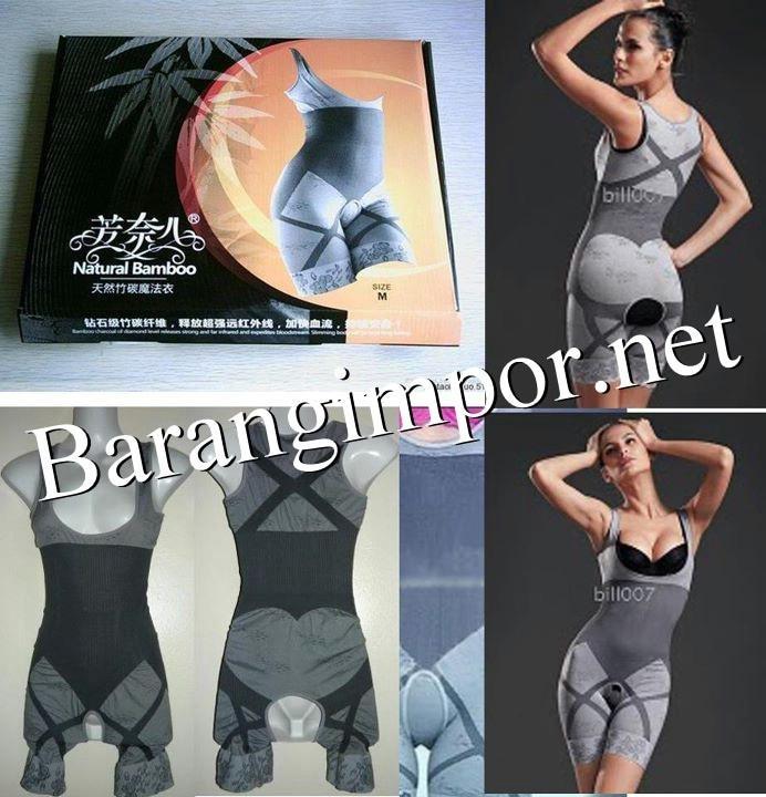 NATURAL BAMBOO SLIMMING SUIT/Bsju pelangsing/bra/Slimming/Korset slim - T10K5S