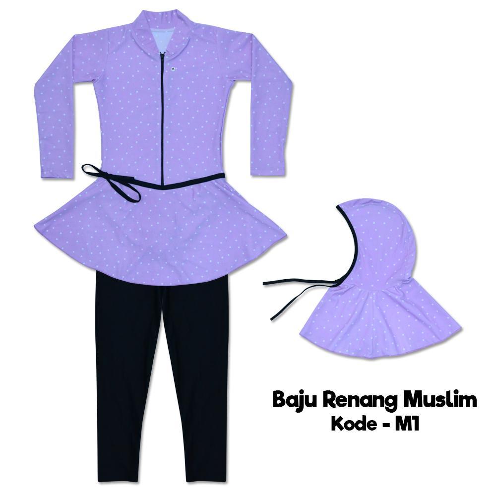 Bebikita Nice Baby Baju Renang Anak Muslim TK / Swimmwear / Baju Renang