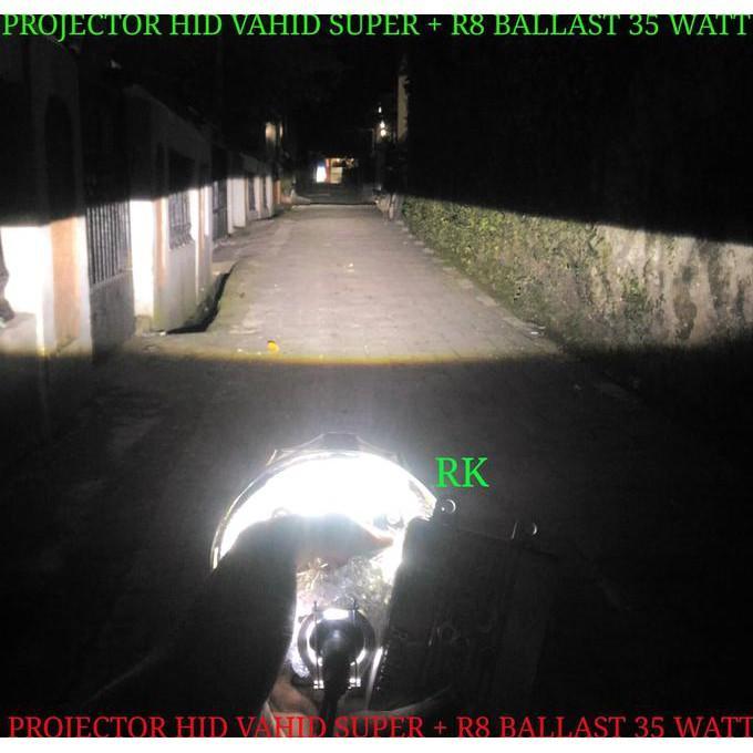 Projector Hid Motor Vahid  Lampu Angel Eye Dan Devil Eye Vahid Stok Terbatas