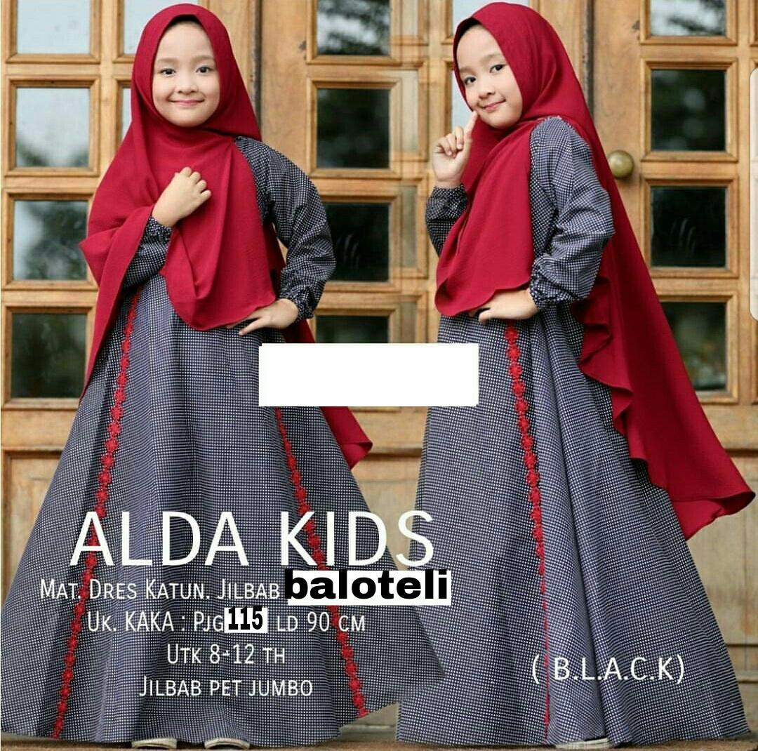 Liliana Baju Gamis  Untuk Anak 8-12thn  Fashion  Terbaru Wanita