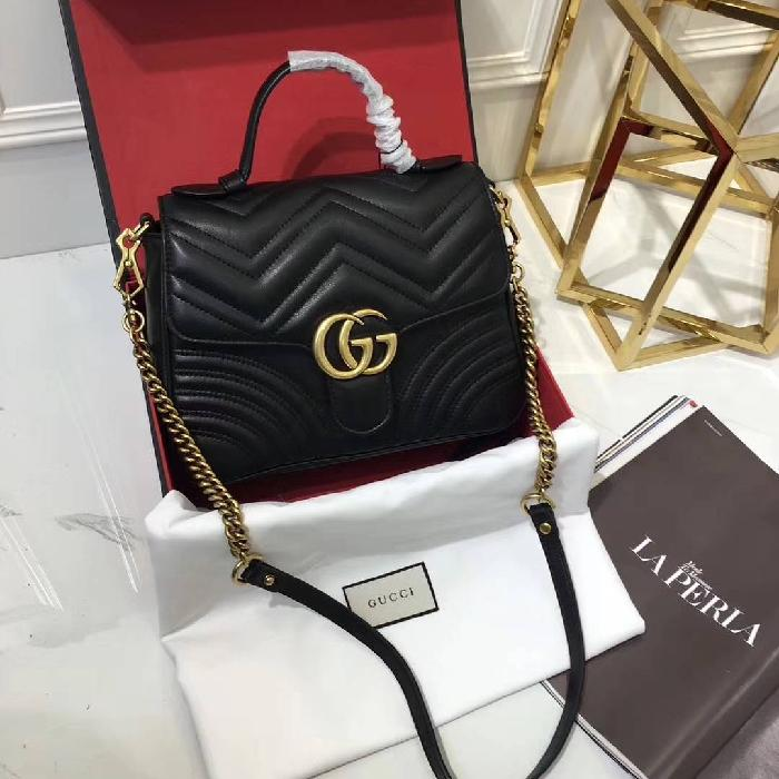 NEW GUCCI MARMONT WITH CHAIN STRAP ORIGINAL LEATHER 26cm Rp 3.850.000, - nZVeMa