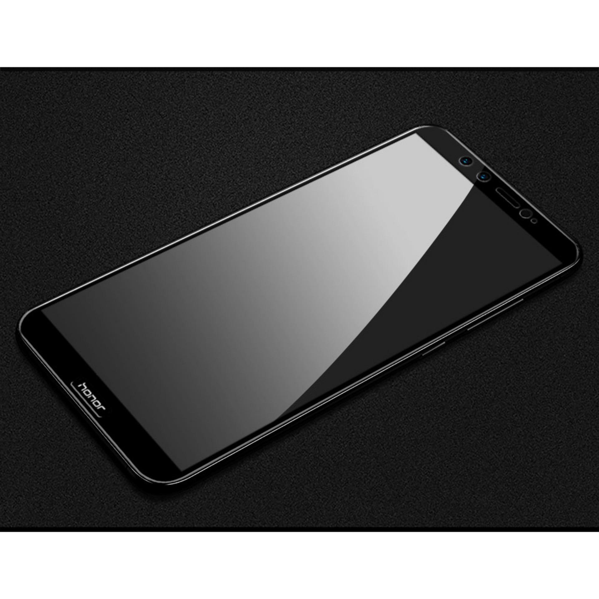 Detail Gambar Full Cover Tempered Glass 5D Screen Protector Huawei Honor 9 Lite - Hitam Terbaru