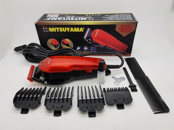 ORIGINAL - ALAT CUKUR RAMBUT MITSUYAMA MS-5021 // HAIR CLIPPER MIRIP WAHL