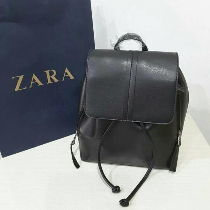 tas wanita original zara ransel black - ASZp9n