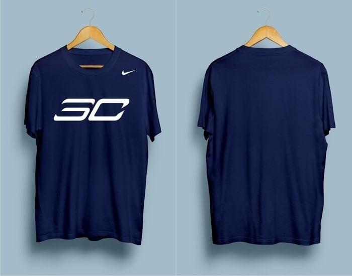 Kaos Tshirt Baju Combed 30S Distro NBA Basket Stephen Curry Jersey